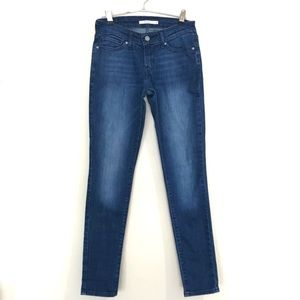 Levi's 711 Skinny Jeans Mid Rise Size 26